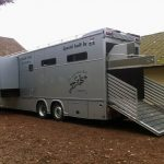 Van pour transport chevaux nord