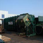 benne dechets pour recyclage
