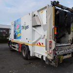 camion de collecte de déchets nord