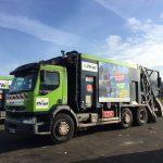 camion de collecte et recyclage nord