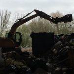 recyclage de déchets jusqu'à arras