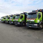 theys collecte et recyclage : flotte de véhicules